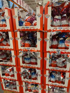 Kinder Surprise Maxi Easter Eggs from Costco