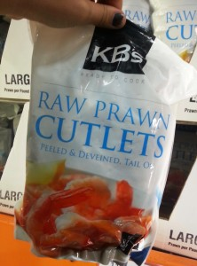 Raw Prawn cutlet packs from Costco Australia