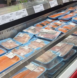 Costco seafood fillet range