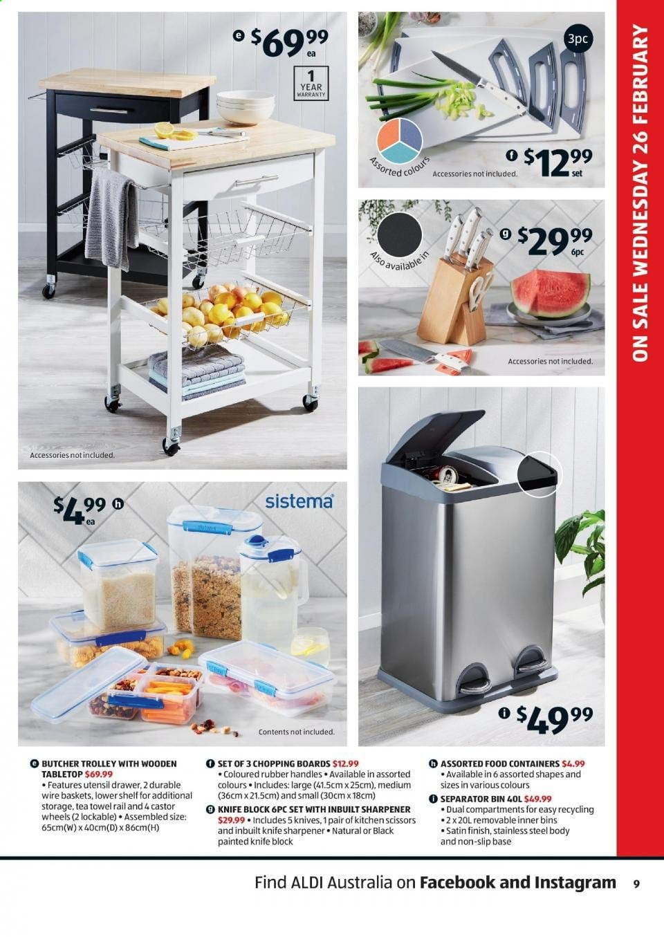Aldi Special Buys Feb