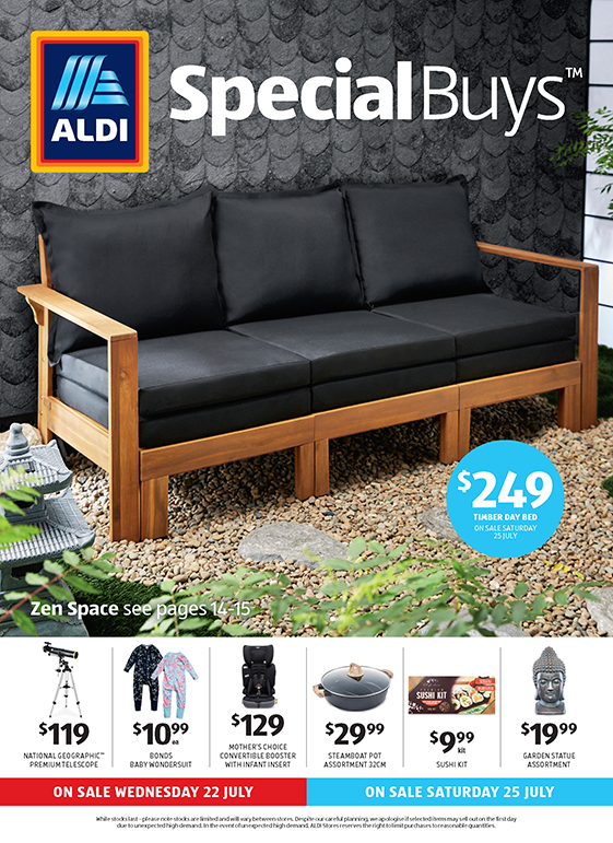 Aldi Catalogue 22 July 2020