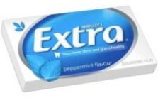 WRIGLEY_S EXTRA GUM SINGLE PACK PEPPERMINT SUGAR FREE 27G